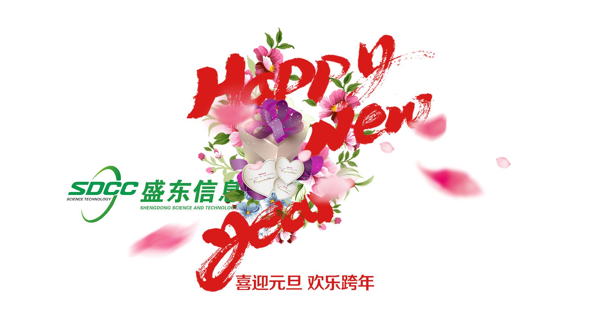 盛东信息2017年元旦放假通知