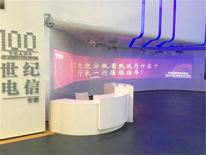 安徽省民政厅厅长叶露中一行莅临中国电信安徽分公司考察盛东智慧千亿国际娱乐网址建设